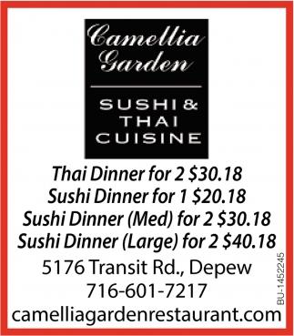 Sushi & Thai Cusine