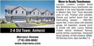 Move-In-Ready Townhomes