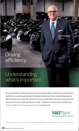 Driving Efficiency