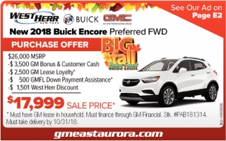 Purchase Offer Big Fall