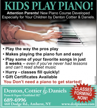 Kids Play Piano!