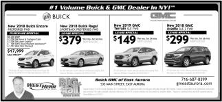 #1 Volume Buick & GMC Dealers
