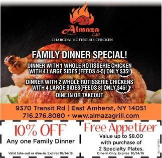 Family Dinner Special