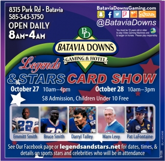 Legends & Stars Card Show