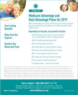 Medicare And Dual Advantage Plans