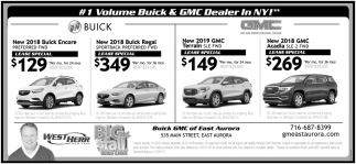 #1 Volume Buick & GMC Dealers
