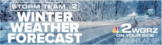 Storm Team 2 Winter Weather Forecast