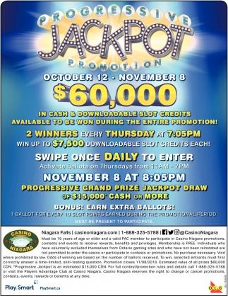 Progressive Jackpot Promotion