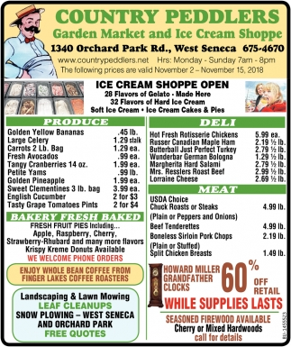 Garden Market And Ice Cream Shoppe
