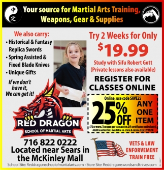 Your Source For Martial Arts Training