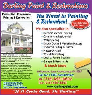 The Finest In Painting And Restoration