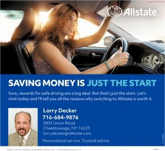 Saving Money Is Just The Start