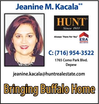 Bringing Buffalo Home