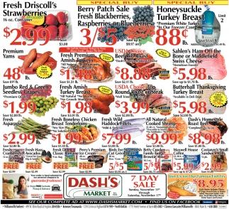 Fresh Organic Red & Green Seedless Grapes