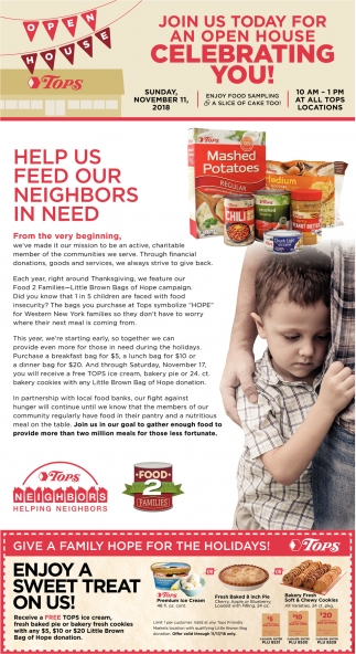 Help Us Feed Our Neighbors