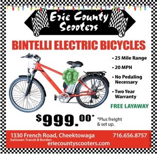Bintelli Electric Bicycles