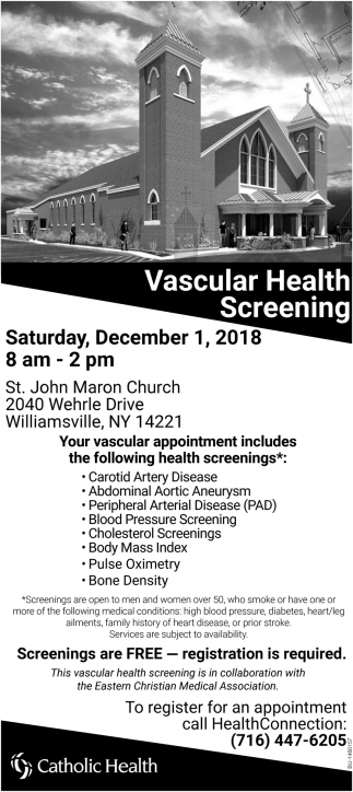 Vascular Health Screening