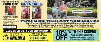 We're More Than Just Wheelchairs