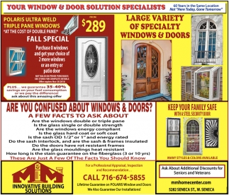 Your Window & Door Solution Specialists