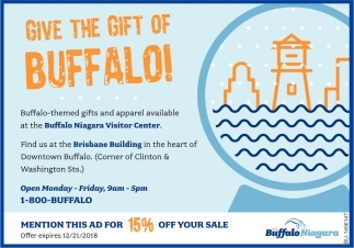Give The Gift Of Buffalo!