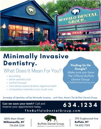 Minimally Invasive Dentistry