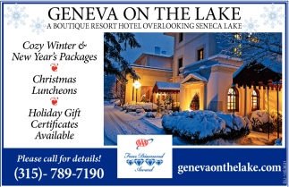 Cozy Winter & New Year's Packages