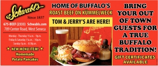 Home Of Buffalo's