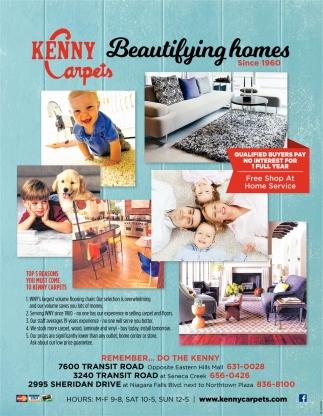 Beautifying Homes Kenny Carpets