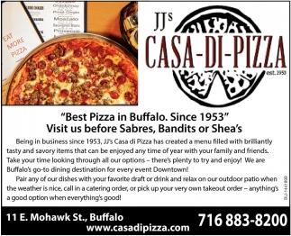 Best Pizza In Buffalo