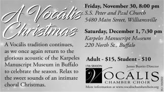 A Vocalis Christmas