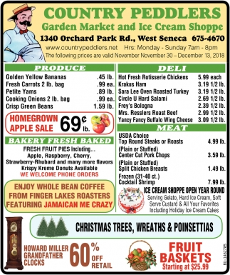 Homegrown Apple Sale