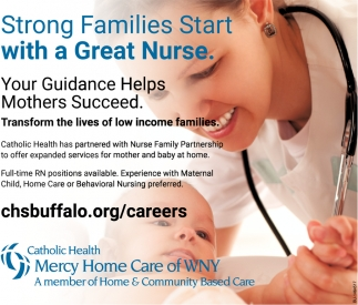 Strong Families Start With A Great Nurse