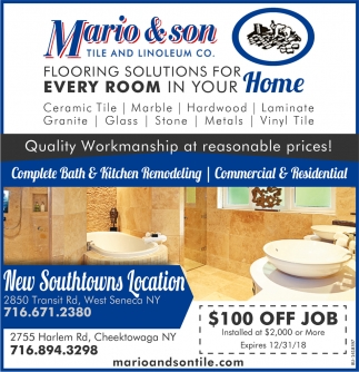 New Southtowns Location