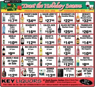 Toast The Holiday Season