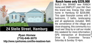 Brand New Ranch Homes!