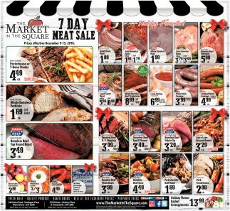 7 Day Meat Sale