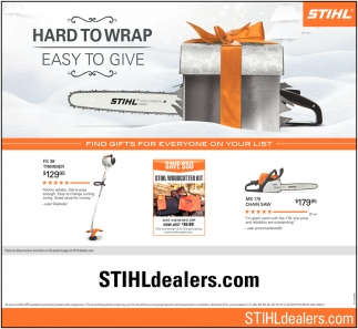 Hard To Wrap Easy To Give