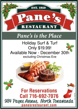 Pane's Is The Place