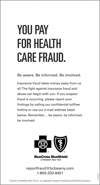 You Pay For Health Care Fraud