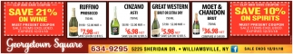 Save 21% On Wine