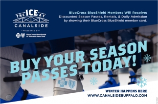 Buy Your Season Passes Today!