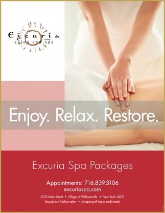 Enjoy. Relax. Restore.