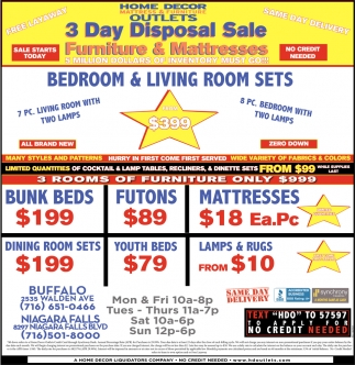 Bedroom & Living Room Sets