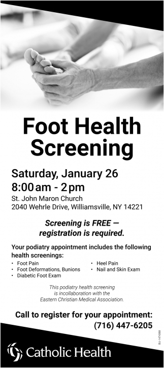 Foot Health Screening