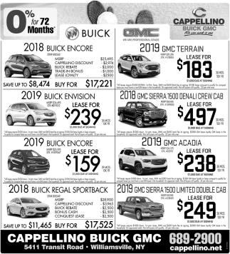 20198 Buick Encore