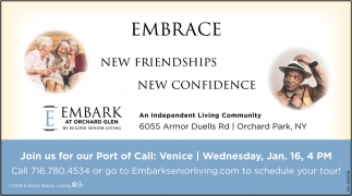 Embrace New Friendships New Confidence