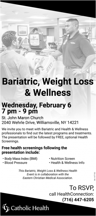 Bariatric, Weight Loss & Wellness