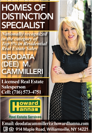 Homes Of Distinction Specialist