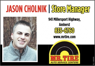 Jason Cholnik Store Manager