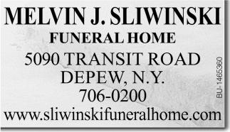Melvin J Sliwinski Funeral Home Melvin J Sliwinski
